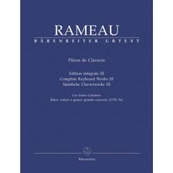 Pieces de Clavecin III . Rameau