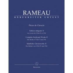 Pieces de Clavecin II. Rameau