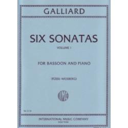 Six Sonatas vol.1  Galliard