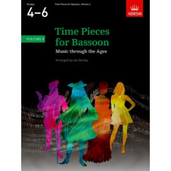 Time Pieces for Bassoon 4-6