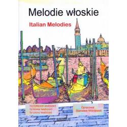 Melodie włoskie na fortepian lub keyboard w opracowaniu M.S. Wiśniewskich