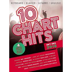 10 Chart Hits Nuty w aranżacji na fortepian,gitarę, ukulele