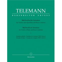 Methodische Sonaten I Telemann