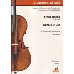 Sonate D-Dur. Franz Benda