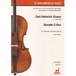 Sonate C-Dur na wiolonczelę i bc. C.H.Graun
