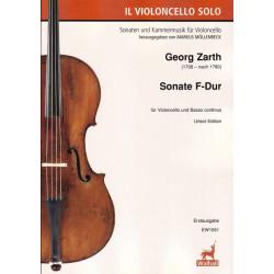Sonate F-Dur. Georg Zarth