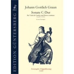 Sonate C-Dur. J.G.Graun