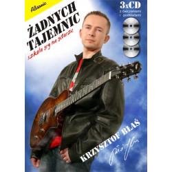 Żadnych tajemnic Szkoła gry na gitarze (+3 cd) Krzysztof Błaś