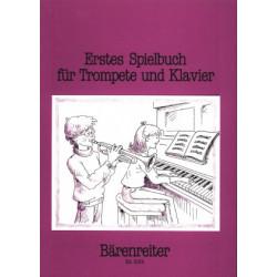 Erstes Spielbuch fur Trompete und Klavier