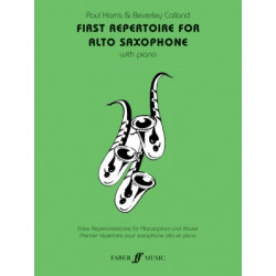 First Repertoire for Alto Saxophone
