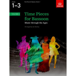 Time Pieces for Bassoon 1-3