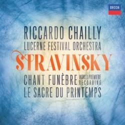 IGOR STRAVINSKY Chant Funèbre The Faun and The Shepherdess, Op. 2 Le Sacre du Printemps