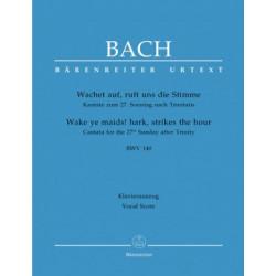 Bach, JS: Cantata No. 140: Wachet auf, ruft uns die Stimme (BWV 140) (Urtext) J.S.Bach
