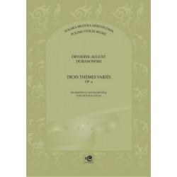 Trois themes varies op.4  Fryderyk Duranowski