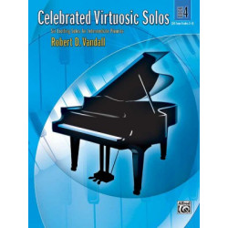 Robert D. Vandall: Celebrated Virtuosic Solos, Book 4