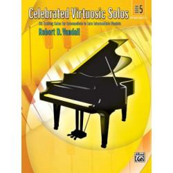 Robert D. Vandall: Celebrated Virtuosic Solos, Book 5