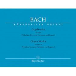 Organ Works 5. J.S.Bach