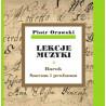 Piotr Orawski, Lekcje muzyki · Barok · Sacrum i profanum
