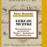 Piotr Orawski, Lekcje muzyki · Romantyczny przewrót · Weber · Schubert · Mendelssohn