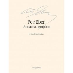 Sonatina semplice für Flöte oder Violine und Klavier Peter Eben