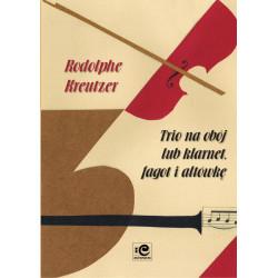 Trio na obój lub klarnet, fagot i altówkę. Rodolphe Kreutzer