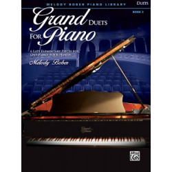 Melody Bober: Grand Duets for Piano 3