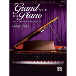 Melody Bober: Grand Solos for Piano 5