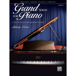 Melody Bober: Grand Solos for Piano 3