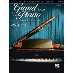 Melody Bober: Grand Solos for Piano 6