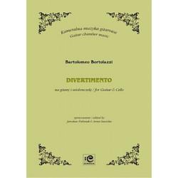 Bortolazzi Bartolomeo, Divertimento