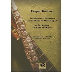 Kummer Caspar,Introduction et variations op. 10