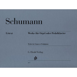 Schumann, R: Works for Organ or Pedal Piano