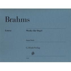 Brahms, J: Works for Organ
