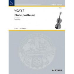 Ysaÿe, E: Posthumus Studies