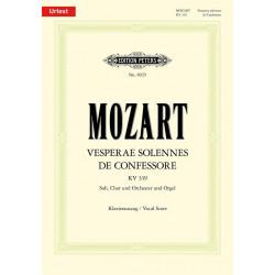 Mozart: Vesperae solennes de Confessore (Lat.) K.339