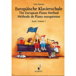 Emonts, F: The European Piano Method 1