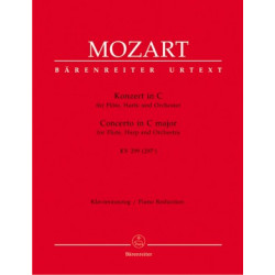 Mozart, WA: Concerto for Flute and Harp in C (K.299) (K.297c) (Urtext