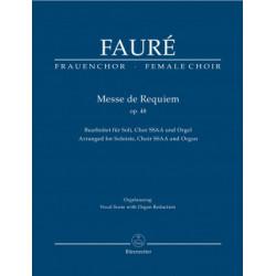 Fauré, Gabriel: Messe de Requiem op. 48