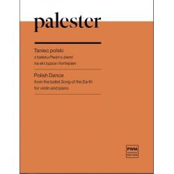 Taniec polski z baletu Pieśń o ziemi na skrzypce i fortepian Roman Palester