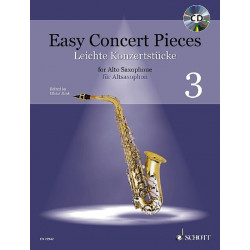 Easy Concert Pieces  3 AS