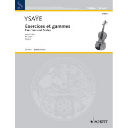 Ysaÿe, E: Exercises and Scales