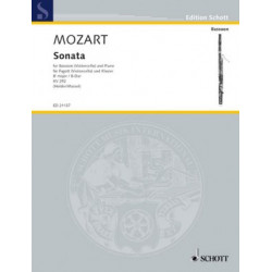 Mozart, W A: Sonata KV 292