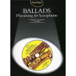 Ballads. Playalong for Saxophone