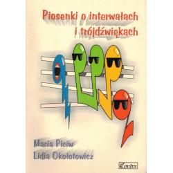 Piosenki o interwałach i trójdźwiękach  Maria Piciw, Lidia Okołotowicz