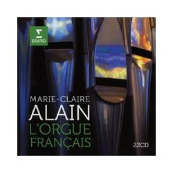 L'orgue Francais. Marie-Claire Alain