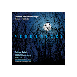 Penderecki. VI symfonia. Koncert klarnetowy