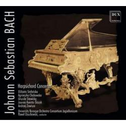 Johann Sebastian Bach Koncerty klawesynowe