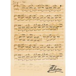 Teczka sepia,  Chopin