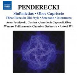 Penderecki: Sinfoniettas & Oboe Capriccio