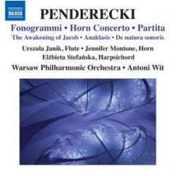 Penderecki: Fonogrammi, Partita & Horn Concerto